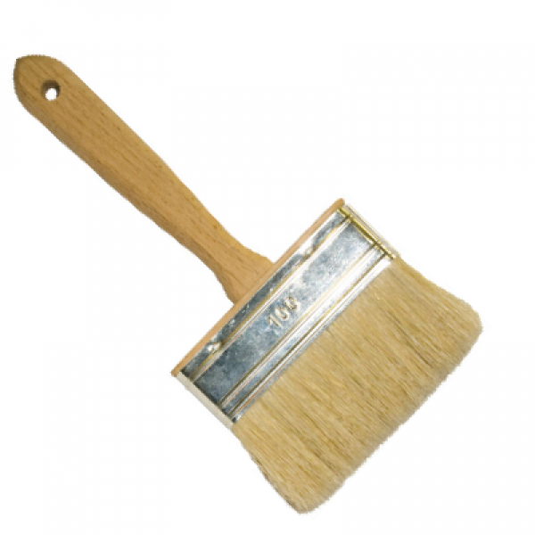 "Кисть ракля ""Люкс"" 25х120мм, натуральная щетина, деревянная рукоятка T4P 0101813"