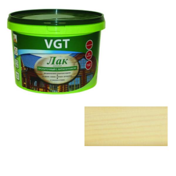 Лак акриловый пропиточный с антисептиком сосна 0,9кг VGT(альб 2008)