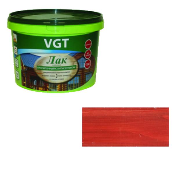 Лак акриловый пропиточный с антисептиком вишня 0,9кг VGT (альб 2008)