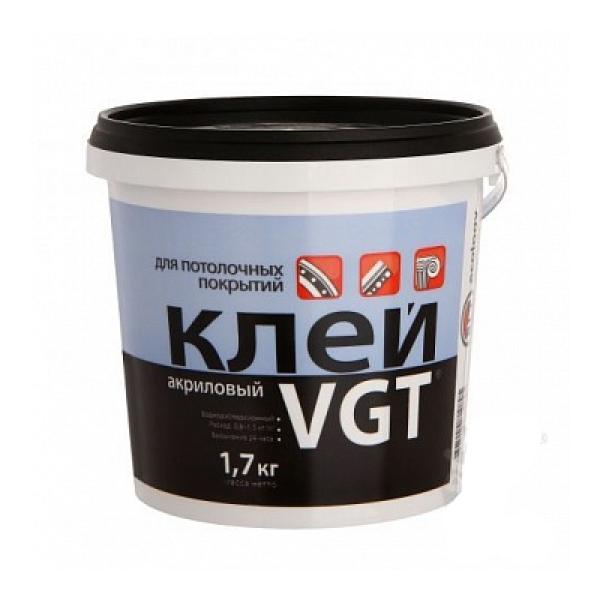 Клей акриловый для потолочных покрытий 1,7кг  VGT