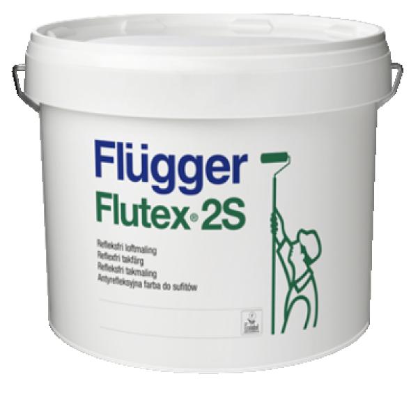 Краска латексная для потолков Flutex 2s 3л FLUGGER 76733