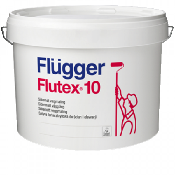 Краска акриловая для стен и потолков Flutex 10 base 3 2,8л FLUGGER 99475