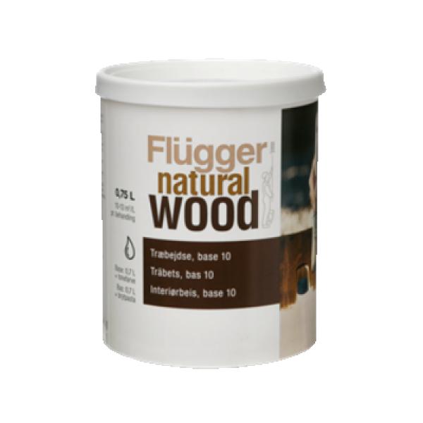 Морилка для дерева Natural Wood Stain base 10 2.8л FLUGGER 61373