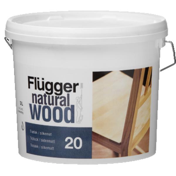 Лак мебельный глянцевый Wood Lacquer gloss 0.75л FLUGGER 94888