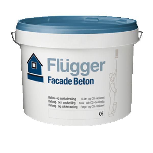 Краска акриловая фасадная Facade beton base 4 9.1л FLUGGER 76686