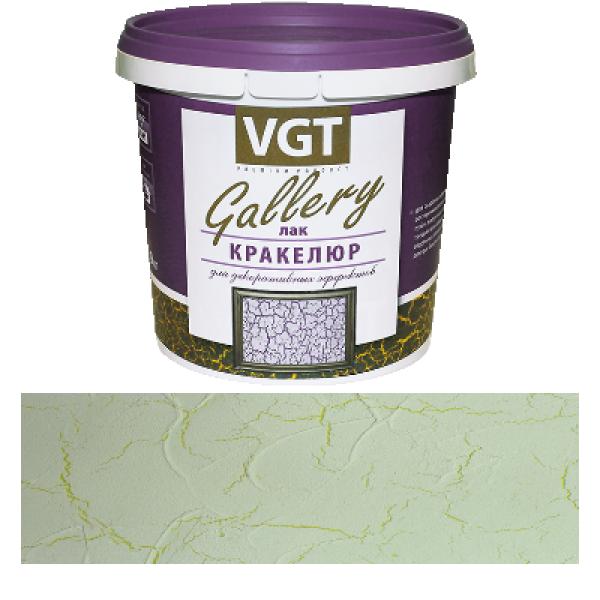 """Лак акриловый для декоративных покрытий """"Кракелюр"""" 0,9 кг VGT (в упаковке 6 шт)"""