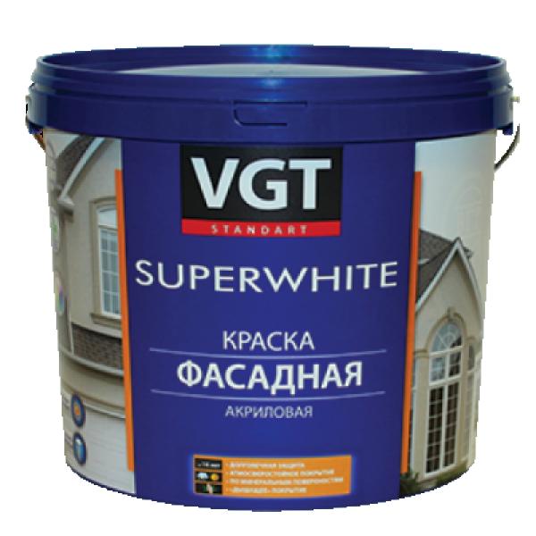 Краска акриловая фасадная база С 13кг VGT