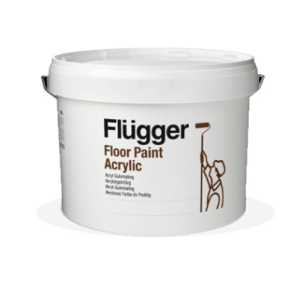 Краска акриловая для пола Fluganyl Acrylic Floor Paint base 1 2.8л FLUGGER 27456