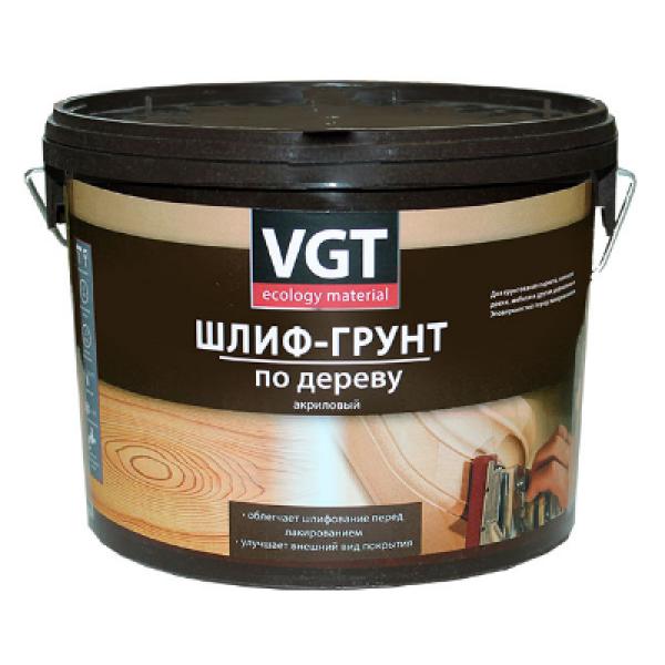 Шлиф-грунт по дереву 0,9 кг VGT(в коробке 6шт)