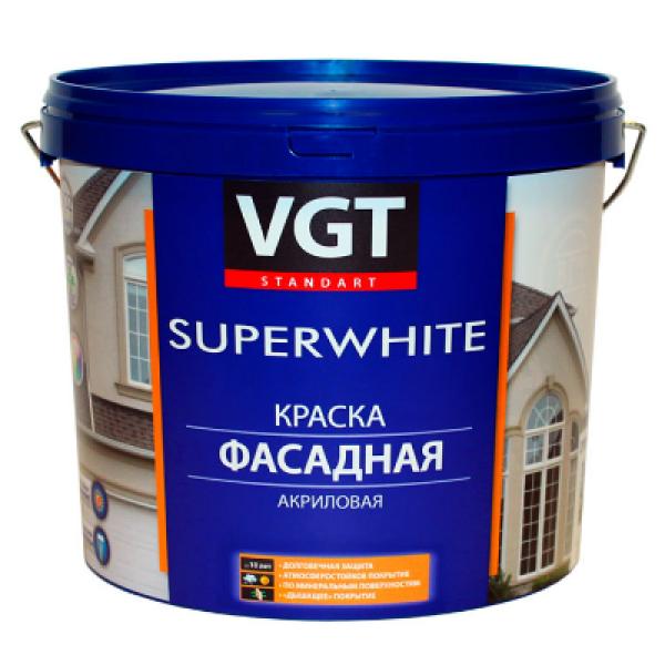 Краска акриловая фасадная база С 6кг VGT