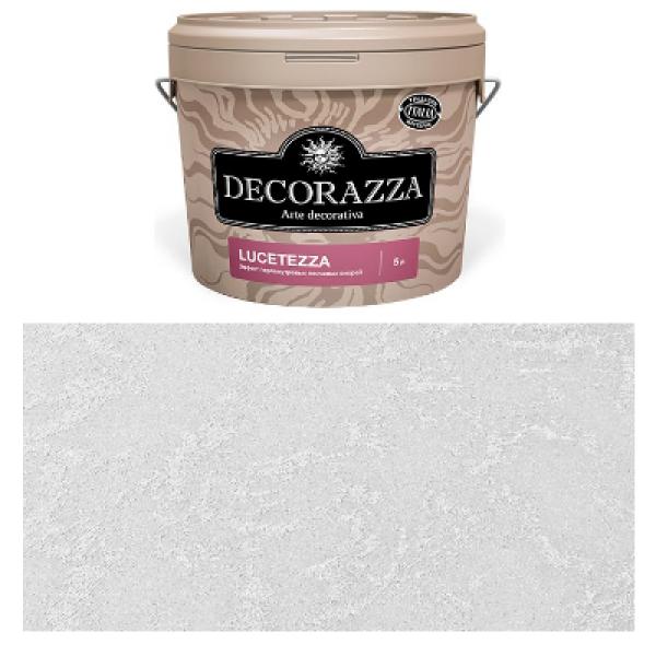 Декоративное покрытие Lucetezza Argento LC-001 5л DECORAZZA DLC001-5