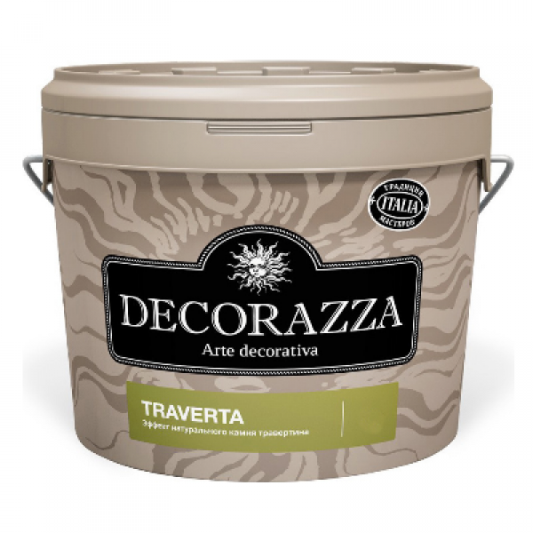 Декоративное покрытие Traverta TT-001 15кг DECORAZZA DTT001-15