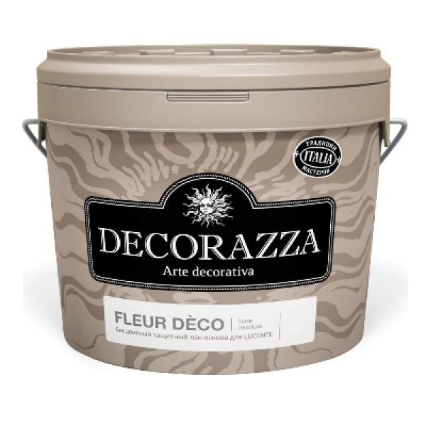 Лак защитный Fleur Deco Base incolore 1л DECORAZZA DFD00-10