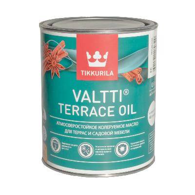 Масло для террас и садовой мебели VALTTI TERRACE OIL EC 0.9л TIKKURILA