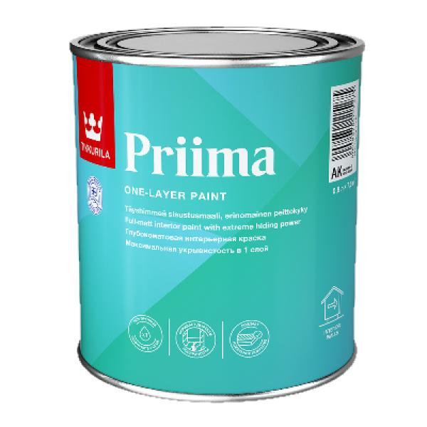 Краска интерьерная PRIIMA AK 9л TIKKURILA