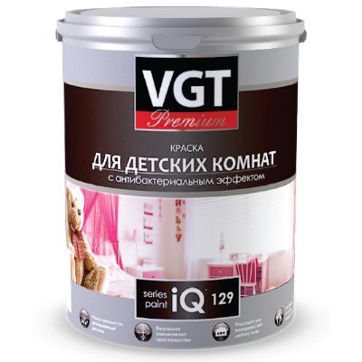 Краска акриловая для детских комнат  iQ 129 2л VGT Premium (в коробке 4шт)