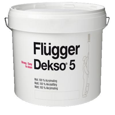 Краска акриловая для стен и потолков Dekso 5 base 4 0.75л FLUGGER 77136