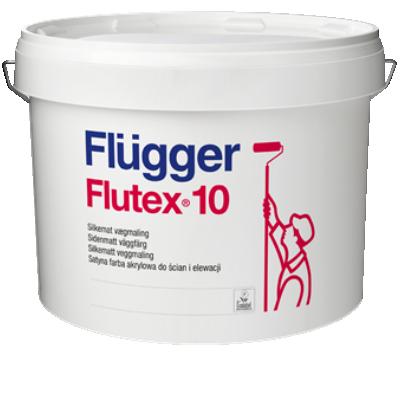 Краска акриловая для стен и потолков Flutex 10 base 1 4,9л FLUGGER 95059