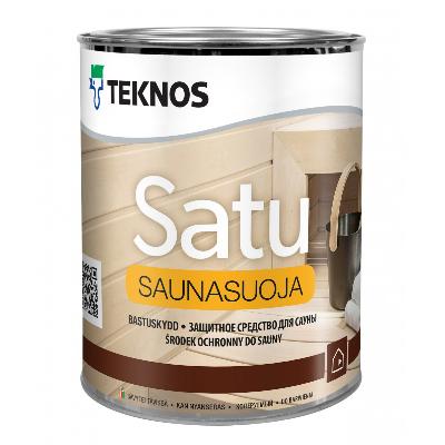 Защитное средство для сауны Satu Saunasuoja 0,9л TEKNOS (в упаковке 5шт)