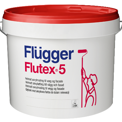 Краска акриловая для стен и потолков Flutex 5 base 1 0.7л FLUGGER 41843