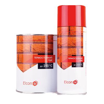 Лак термостойкий (до 250 градусов) 0,8кг Elcon