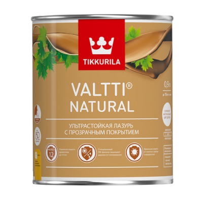 Антисептик VALTTI NATURAL бесцветный 2,7л TIKKURILA