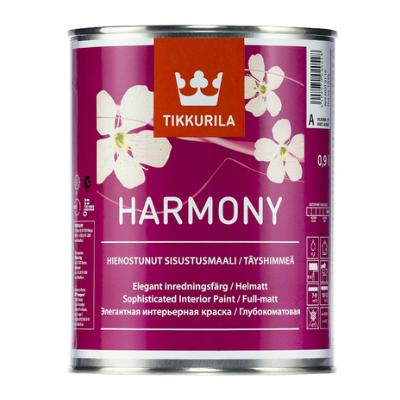 Краска для стен и потолков глубокоматовая HARMONY A 0,9л TIKKURILA
