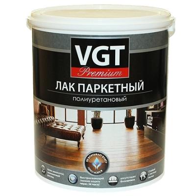Лак паркетный полиуретановый матовый 9кг VGT Premium