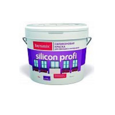 Краска силиконовая для фасадов и интерьеров Silicon profi A 9л Bayramix