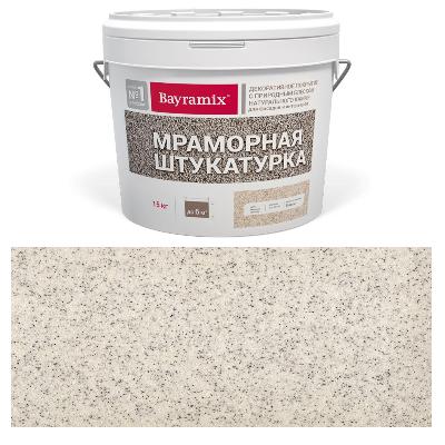 Штукатурка мраморная Royal White-N 15кг Bayramix BMSH-RW-N