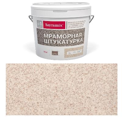 Штукатурка мраморная Kashmir White-N 15кг Bayramix BMSH-KW-N