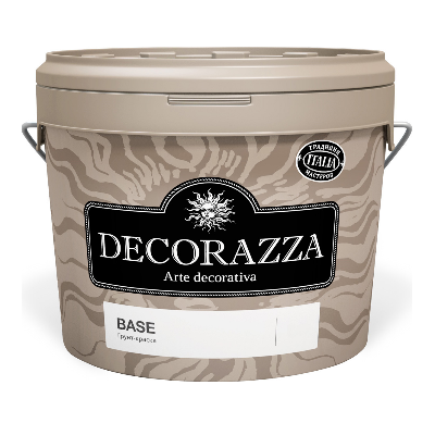 Грунт-краска Base 9л DECORAZZA DB1-150/90