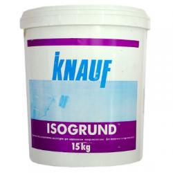 Грунтовка для цементных штукатурок Изогрунд 15кг KNAUF (в поддоне 33вед)
