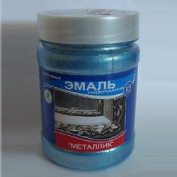 """Эмаль универсальная металлик """"Аквамарин"""" 0,23кг (ВД-АК-1179)  VGT"""