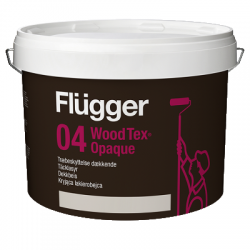 Покрытие по дереву полуматовое Wood Tex Opaque base 1 9,1л FLUGGER 45600
