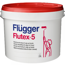 Краска акриловая для стен и потолков Flutex 5 base 1 2.8л FLUGGER 41841