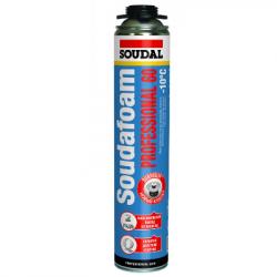 Пена профессиональная Soudafoam Professional 60 зима 750мл SOUDAL 115002 (в коробке 12шт)