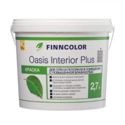 Краска для стен и потолков Oasis Interior Plus A 2,7л FINNCOLOR