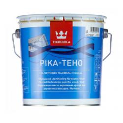 Краска для деревянных фасадов матовая PIKA-TEHO A 2,7л TIKKURILA