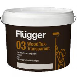 Покрытие-пропитка по дереву Wood Tex Transparent base 10 9,1л FLUGGER 43816