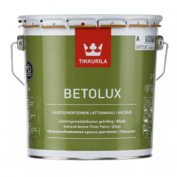 Краска уретано-алкидная для бетонных и деревянных полов Betolux C 2,7л TIKKURILA