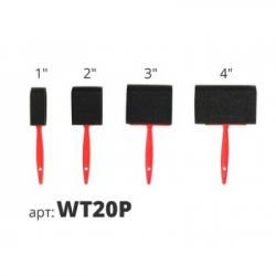 Набор поролоновых кистей (4шт) WT20P STMDECOR