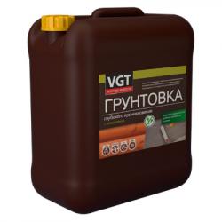 Грунтовка глубокого проникновения с антисептиком 5кг VGT