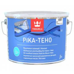Краска для деревянных фасадов матовая PIKA-TEHO A 0.9л TIKKURILA