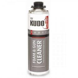 Очиститель монтажной пены CLEANER 451гр KUDO (в коробке 12шт)