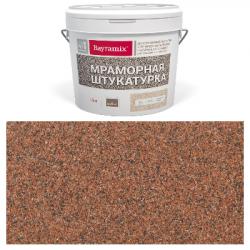 Штукатурка мраморная Red Stone-K 15кг Bayramix BMSH-RS-K