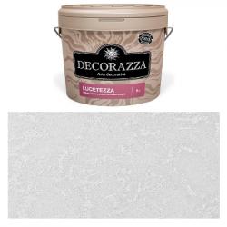 Декоративное покрытие Lucetezza Argento LC-001 1л DECORAZZA DLC001-1