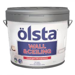 Краска для стен и потолков Wall&ceiling база А 2.7л OLSTA OWCA-27