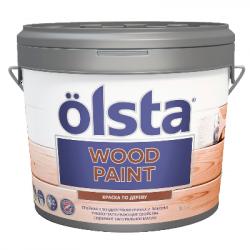 Краска по дереву Wood PAINT база А 9л OLSTA OWDA-90