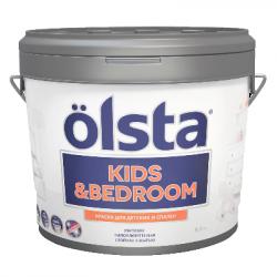 Краска для детских и спален Kids&bedroom база C 2.7л OLSTA OKRC-27